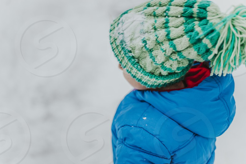Candid Winter Lifestyle Images photo