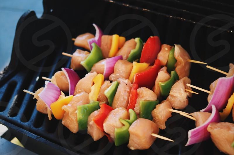 BBQ food chicken  photo