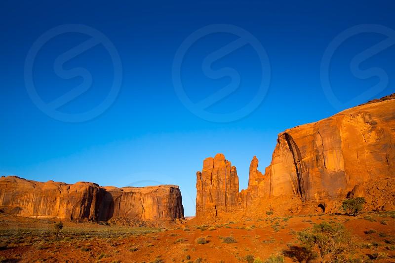 Monument Valley Rain God Mesa National Park Utah photo