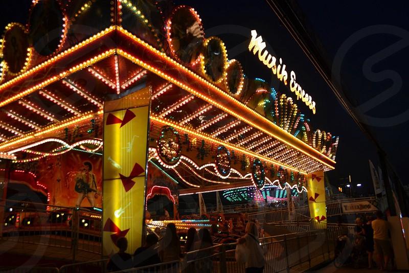 music express theme park photo