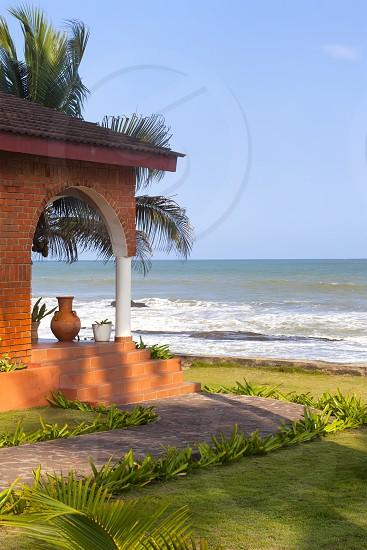 Resort on Ghana Coast photo