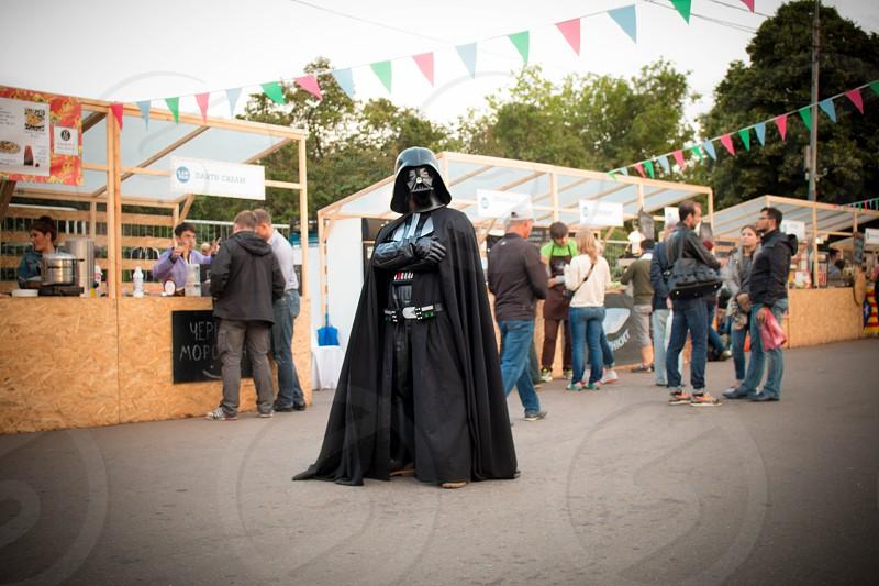 Darth Vader Star Wars funny humor big city life  photo