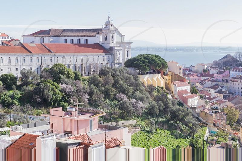 Miradouro Sophia de Mello Breyner Andresen in Lisbon photo