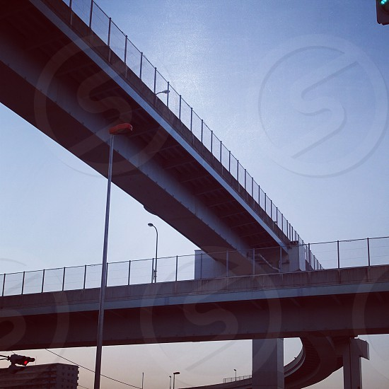 gray concrete bridge photo