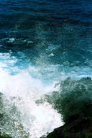 Splash Ocean Waves photo