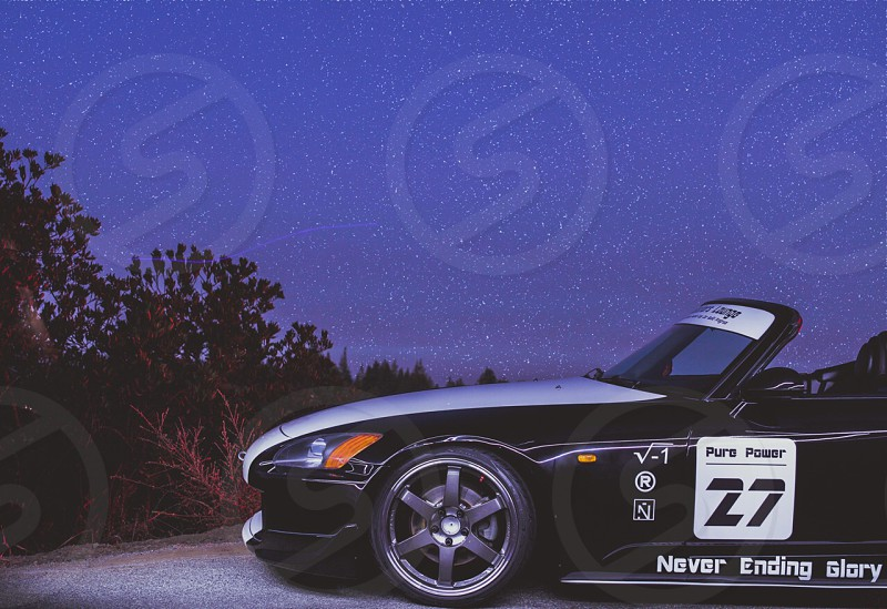 S2000 mod and a starry night  photo