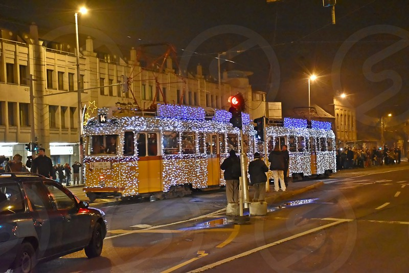 In Advent and Chrismas time some trams run in 39200 LED lights. It is already a tradition. photo