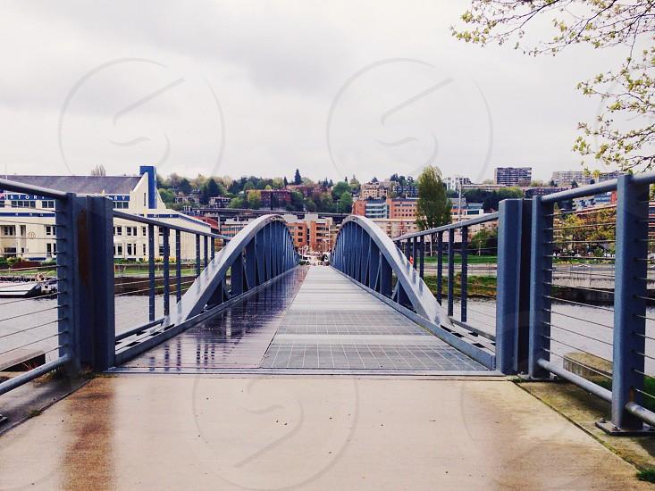 pedestrian bridge  photo