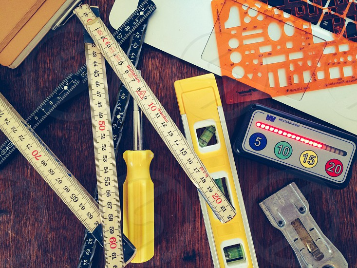 white measuring tape photo