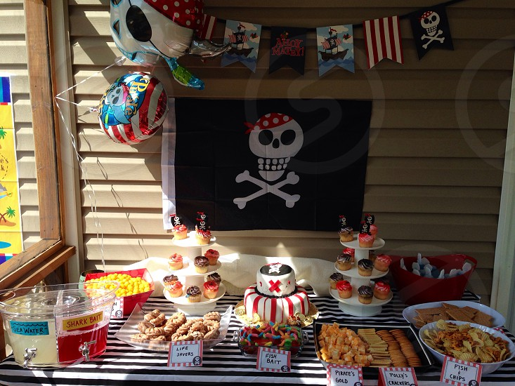 pirate cream cake photo