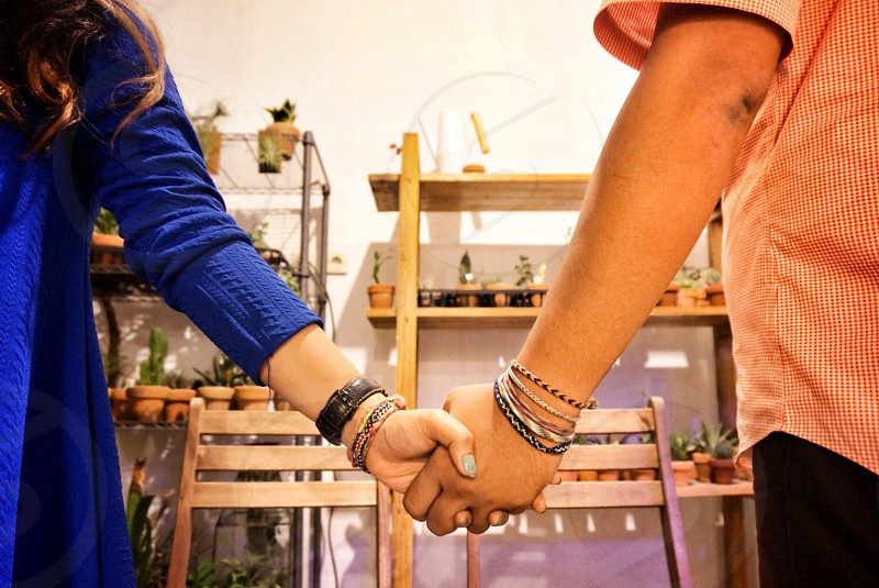 Holding hands hands love photo