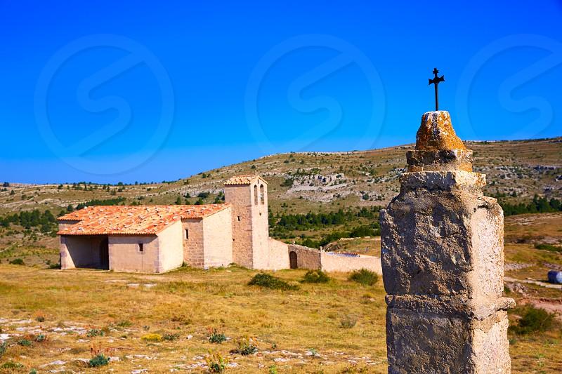 Corratxar Sant Jaume church in Tinenca Benifassa of Spain Castellon photo