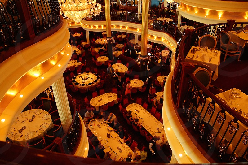 Freedom of the Seas dining room photo