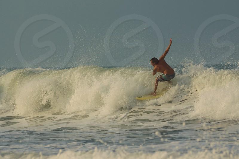 surf costeño beach Santa marta  Colombia photo