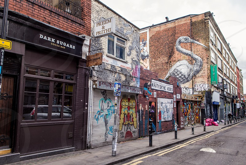 Brick Lane Spitalfields London photo