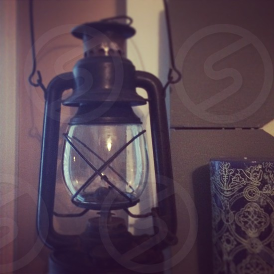 lantern antique photo