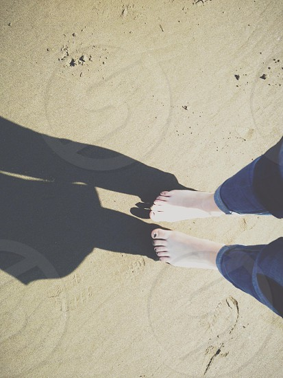 Seaside Beach in Oregon  photo
