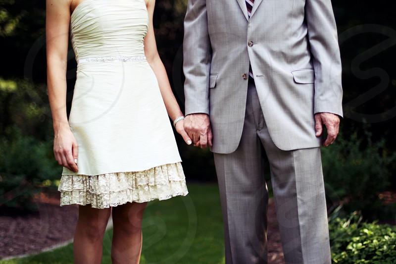 men's gray tuxedo photo