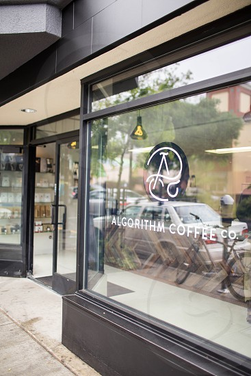 photo showing exterior of algorithm coffee co.during daytime photo