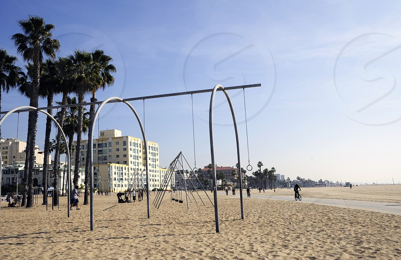 Santa Monica beach photo