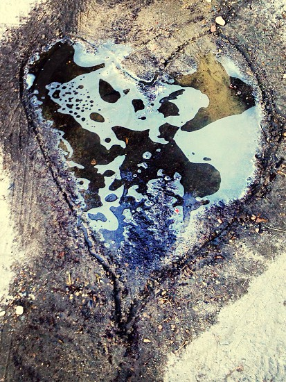 Puddle of love photo