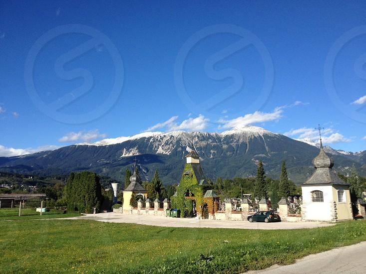 Alpine scene photo