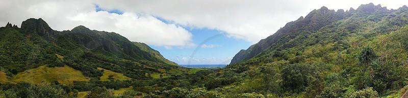 Hawaiian Volcanic Landscape photo