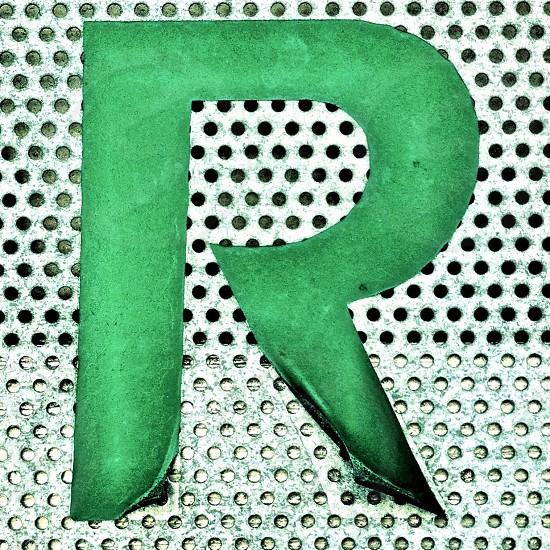 green r logo photo