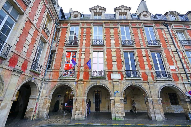 The Maison de Victor Hugo in Paris France photo