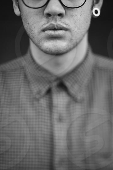 mens plaid gap button up shirt photo