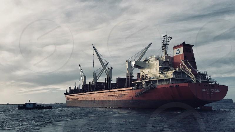 Seaport Ship Sea  photo