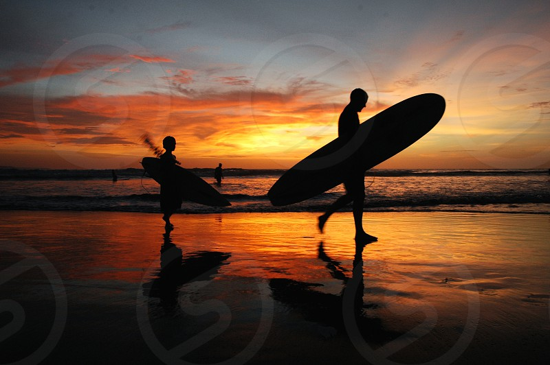 enjoy the great holidays in Bali photo