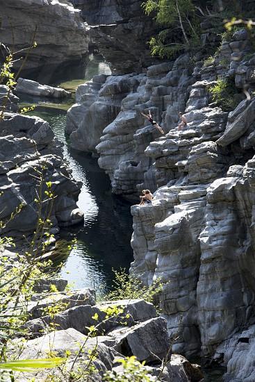 International Cliff Diving Championship Valle Maggia Switzerland photo