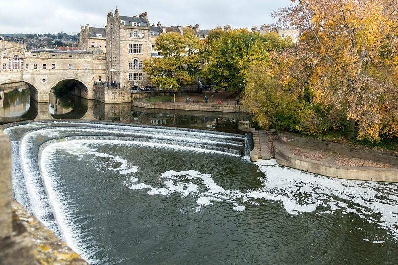 View of Pulteney Bridge in Bath photo