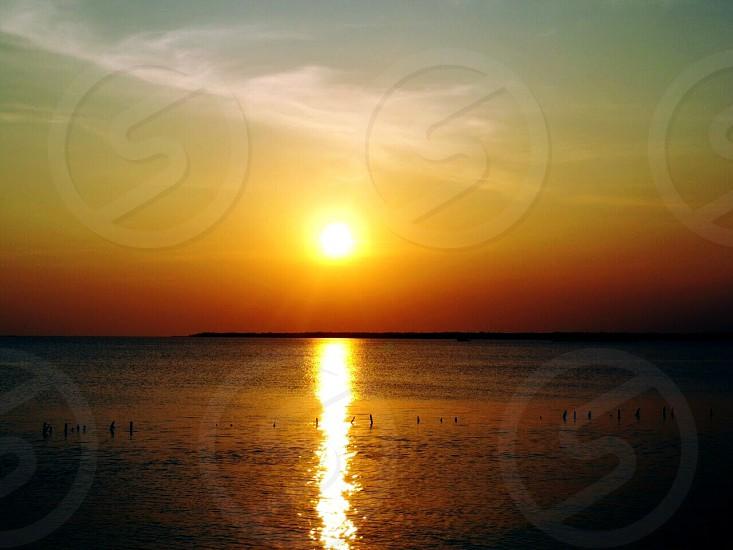 sunset & sunrise photo