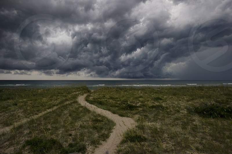 Outer banks obx thunder storm photo