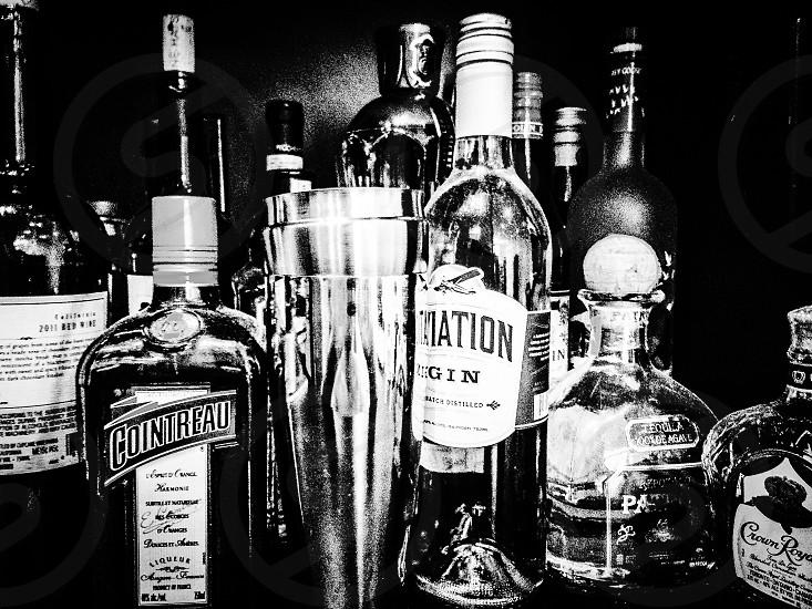 Kitchen bar liquor booze alcohol  photo