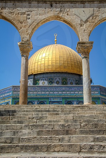 golden dome temple photo