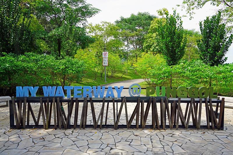 Punggol Waterway Park in Singapore photo