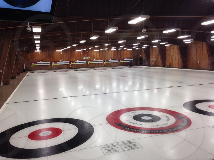 Curling rink photo
