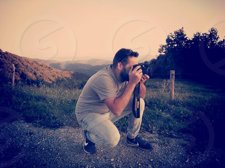 shooting man photo