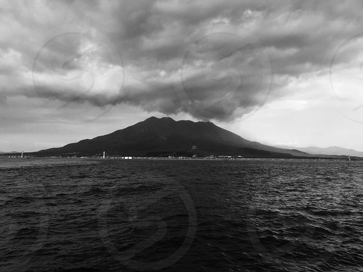 sakurajima JAPAN. photo