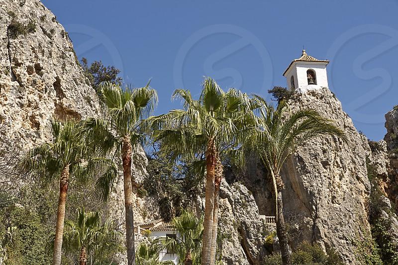 Castle of Guadalest in the province of Alicante Spain El Castell de Guadalest Marina Baixa España photo