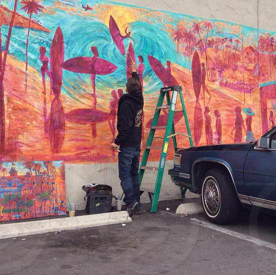 Mural Painter from Carlsbad Ca photo