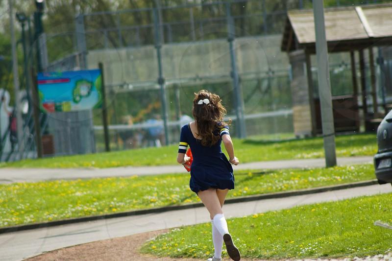 pom-pom girl youth sport photo
