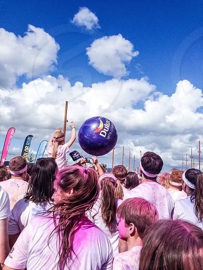 Belfast Dulux Color Run 2014 photo