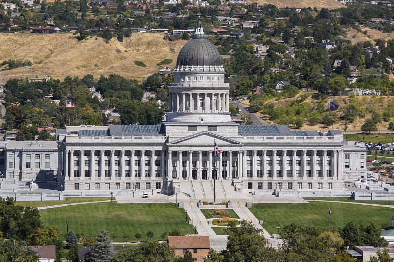 Salt Lake City Utah capitol building capital photo