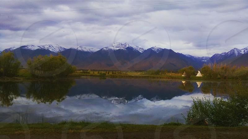View at Ninepipes Lodge MT photo