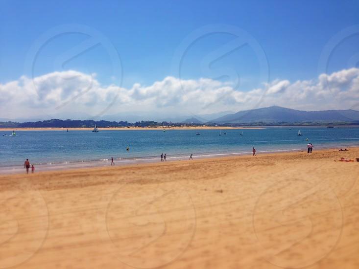 Santander Bay Spain photo