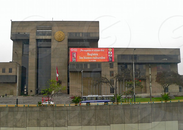 Museum of the Nation Lima Peru. photo
